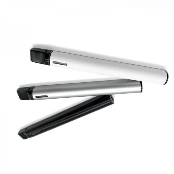 Custom logo elektronik sigara vaper variable voltage 510 thread cbd oil vap cartridge vape pen battery #3 image
